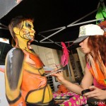 live event bodypainting