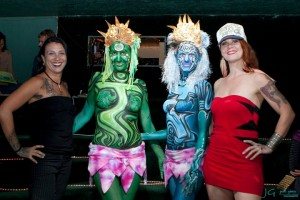 maui slam body painting